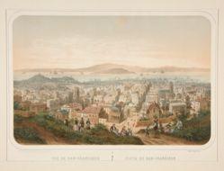 Vue de San-Francisco; Vista de San-Fransisco