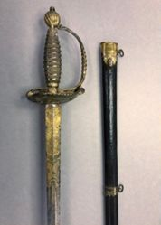 Military Dress Sword Owned by Baron Fredrich Wilhelm von Steuben