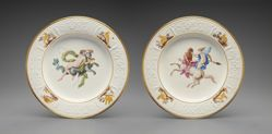 "Pair of Plates from the ""Herculaneum Service"""