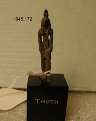 "Statue marked ""Thoth"""
