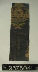 Fragment of brocaded twill