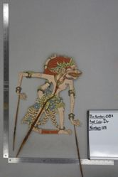 Shadow Puppet (Wayang Kulit) of Anolo, from the set Kyai Drajat