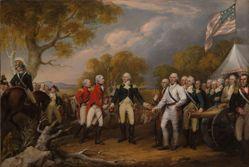 The Surrender of General Burgoyne at Saratoga, October 16, 1777