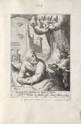 Peter, 1 of 8 prints from the series Eight Repentant Sinners from the Old and New Testament