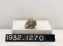 Green-glazed fragment