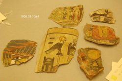 Six (6) Mummy Fragments