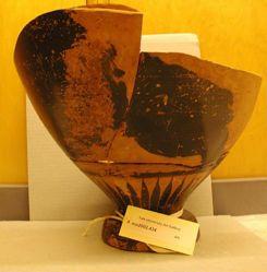 Amphora Fragments, probaby from a panathenaic prize amphora