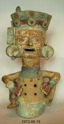 Xantil (Incense Burner) in the Shape of a Seated Deity