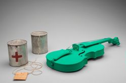 Green Violin and Telephone S--------R (Sender--------Receiver)