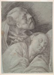 Two Apostles, study for The Last Supper
