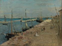 The Harbor at Cherbourg