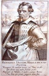 Hendrick Cornelisz. Vroom, from the book Pictorum aliquot celebrium, præcipué Germaniæ inferioris, effigies (Effigies of Some Celebrated Painters, Chiefly of Lower Germany)