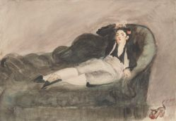Copy of Reclining Young Woman in Spanish Costume