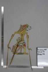 Shadow Puppet (Wayang Kulit) of Citraksa, from the set Kyai Drajat
