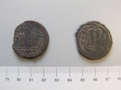 Follis (40-nummi) of Phocas from Nicomedia