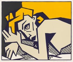 Reclining Nude, from the series Expressionist Woodcut