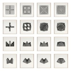 12 Photographs and 4 Diagrams (N+1 Center Sets)