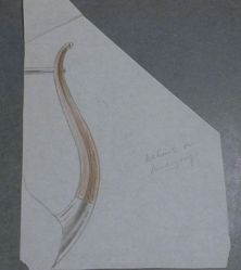 Drawing for a Vessel Handle