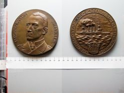 Bronze Medal from Germany of Captain Karl von Müller
