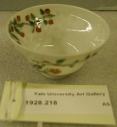 Cup with Lychees