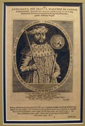 Elector of Brandenburg from Decem e familia Burggraviorum Nurnbergensium Electorum Breandenburgicorum eicones, ad vivum expressae