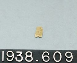 Thin Gold Leaf Inscribed with Human Figure