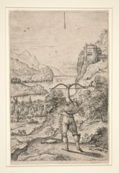 Archer in a Landscape