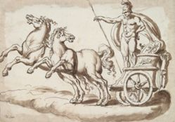 Mars in a Chariot Drawn by Two Horses