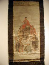 Sakyamuni with Sixteen Arhats