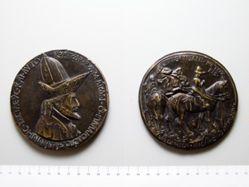 Medal of John VIII Palaeologus, Emperor of Byzantium
