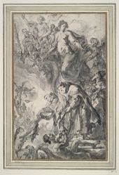 Saints Delivering People from Purgatory