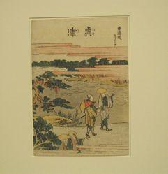 Okitsu, Eighteenth in the series Fifty-three Stations of the Tōkaidō