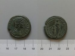 Uncertain denomination from of Julia Domna from Nicopolis ad Istrum