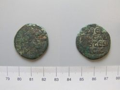 Follis (40 Nummi) of Theophilus I from Constantinople