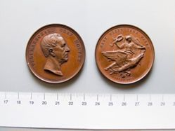Bronze Medal of Helmuth von Moltke the Elder from Germany
