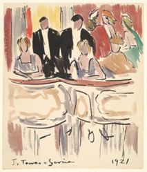 Artists' Ball:Spectators in Theater Boxes