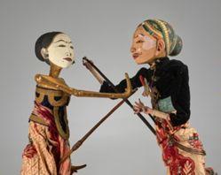 Rod Puppet (Wayang Golek) of Badut