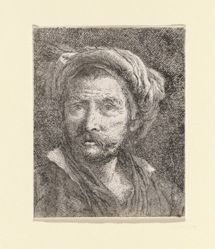 Old Man with Turban, from the Raccolta di Teste (Collection of Heads)