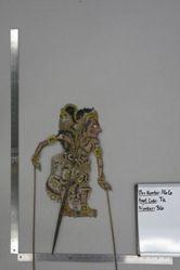 Shadow Puppet (Wayang Kulit) of Raja Gerabak Besi
