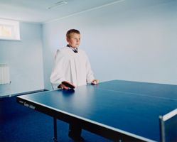 Game Room, from the series Tinsel and Blue