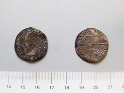 Silver Groat of Philip and Mary I