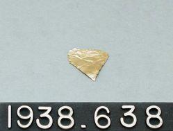 Fragment of Gold Leaf