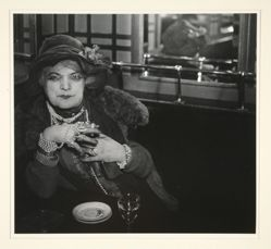 """Bijou"" of Montmarte, from A Portfolio of 10 Photographs by Brassai"