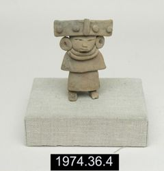 Wide-Band Headdress Figure