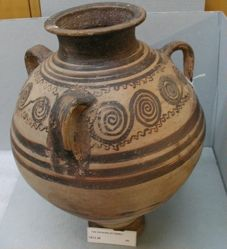 Three-handled jar
