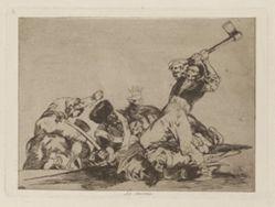 Lo mismo (The Same), Plate 3 from Los desastres de la guerra (The Disasters of War)