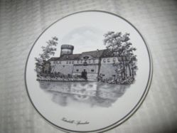 Plate with topographical view, Zitadelle-Spandau