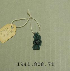 Amulet: head of Hathor