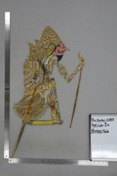 Shadow Puppet (Wayang Kulit) of Sri Begawan or Bolodewo, from the set Kyai Drajat