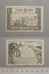 10 Heller from Altenfelden, Notgeld